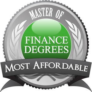 Badge - Master of Finance Degrees