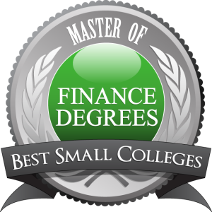 Badge - Master of Finance Degrees - Best Small Colleges