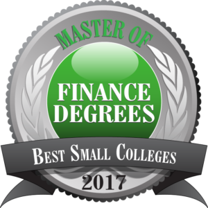 Master of Finance Degrees - Best Small Colleges 2017